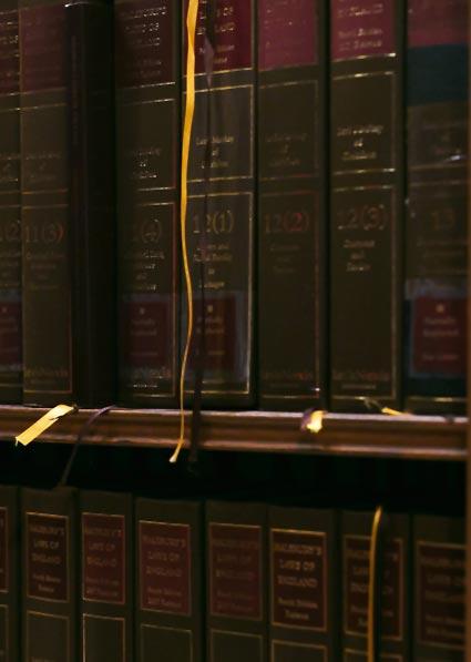 book shelf legal books